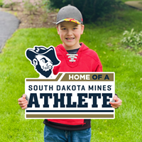 HOME OF A SOUTH DAKOTA MINES ATHLETE SDSM-LWN-15