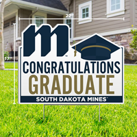 Congratulations Graduate South Dakota Mines Sdsm-Lwn-12