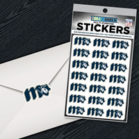 Cdi Sticker Sheet Repeat Grubby M-Lock